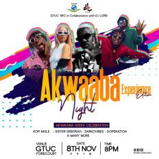 PHOTO 2019 11 02 22 29 05 - DJ Lord Partners With GTUC S.R.C. For This Year's Akwaaba Night (Experience Edition)
