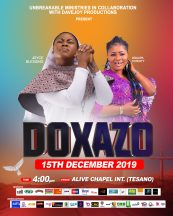 Joyce Blessing doxazo 4 scaled - Joyce Blessing to Hold Doxazo 2019 on December 15th