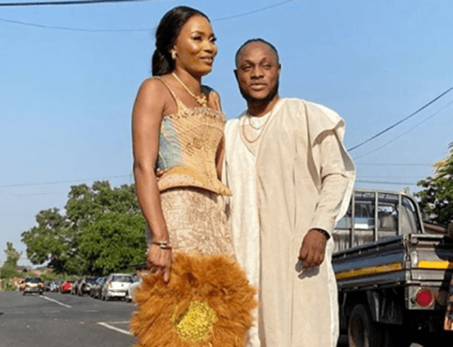 keche wife 500x383 - Keche Andrew weds his Record Label owner