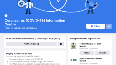 Photo of Facebook launches COVID-19 Information Centre in Ghana