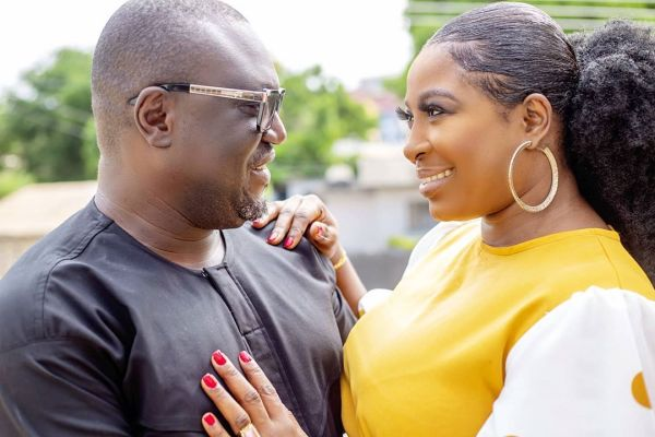 Gloria and Dadaboat 500x333 - Gloria Sarfo and Dadaboat are ready to tie the knot
