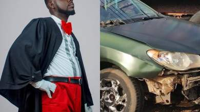 Photo of Photo: Lawyer Nti survives Car Accident