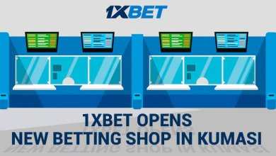 Photo of 1xBet Opens New Betting Shop in Kumasi