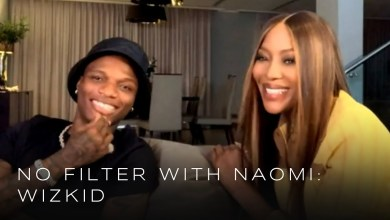Wizkid and Naomi Campbell - Wizkid Goes In-depth About His Life And Music Career With Naomi Campbell On No Filter