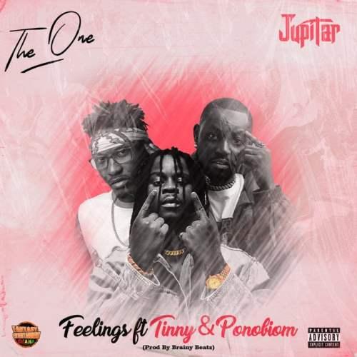 jupitar ft tinny and pono 500x500 - Jupitar - Feelings ft. Yaa Pono & Tinny