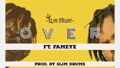 Slim Drumz Over cover art - Slim Drumz ft Fameye - Over