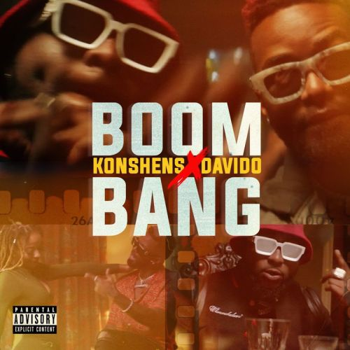 konshens ft davido art 500x500 - Konshens - Boom Bang ft. Davido