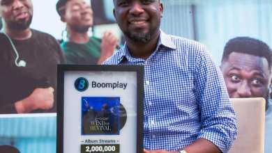 wind - Joe Mettle Receives Boomplay Award For 'Wind of Revival'