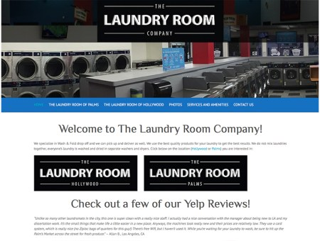 Laundromat Websites