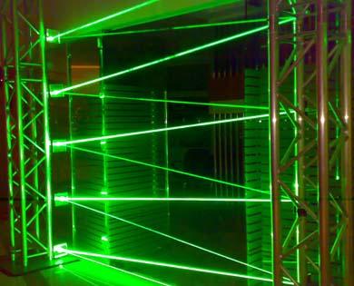 DCMW Research  Development Laser Artist