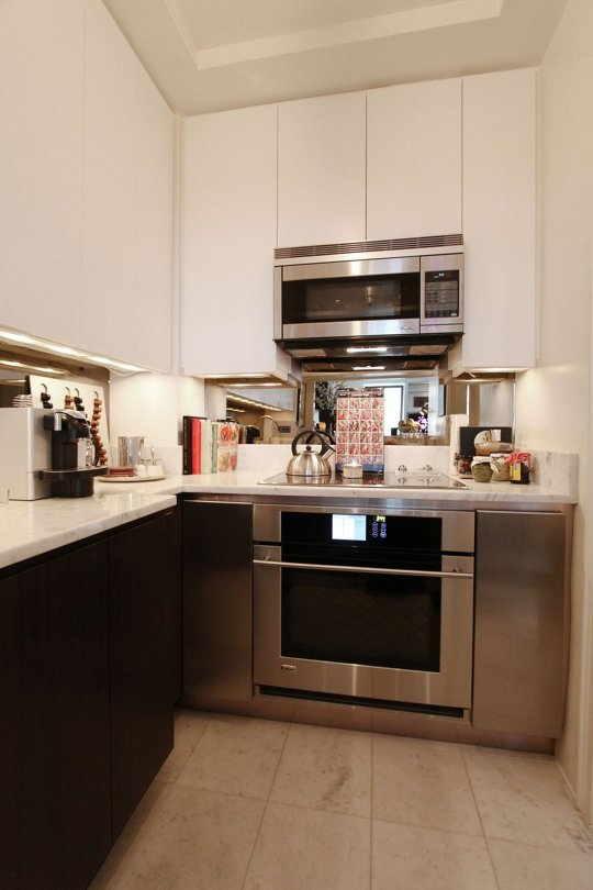 Cozinha de Apartamento Pequeno  20 Idias Incrveis com Fotos