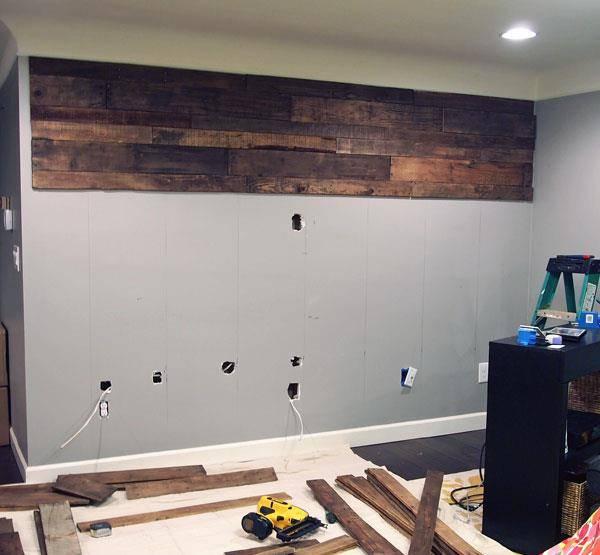 Resultado de imagem para fazer a parede da sua cozinha de palete