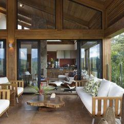 Tropical Living Room In Malaysia The Ny Casa De Campo - Veja Mais 60 Fotos Incríveis