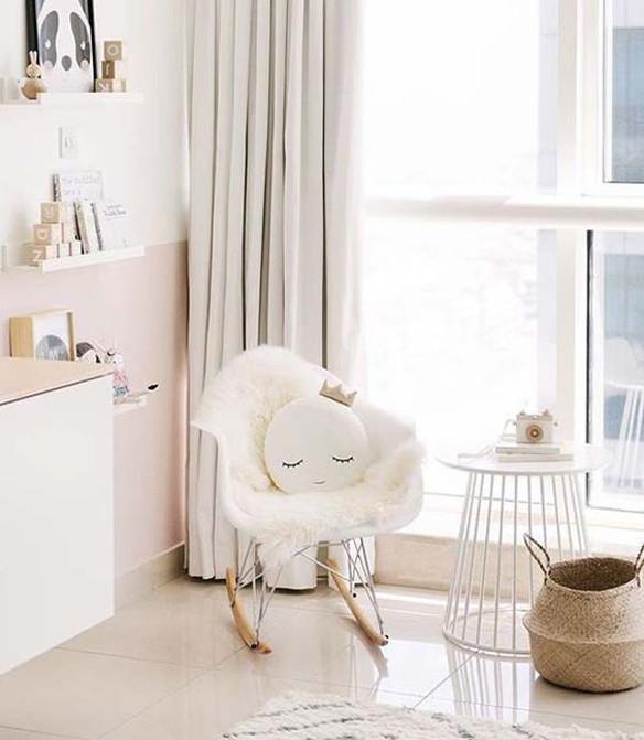 Como usar cadeira de balano na decorao