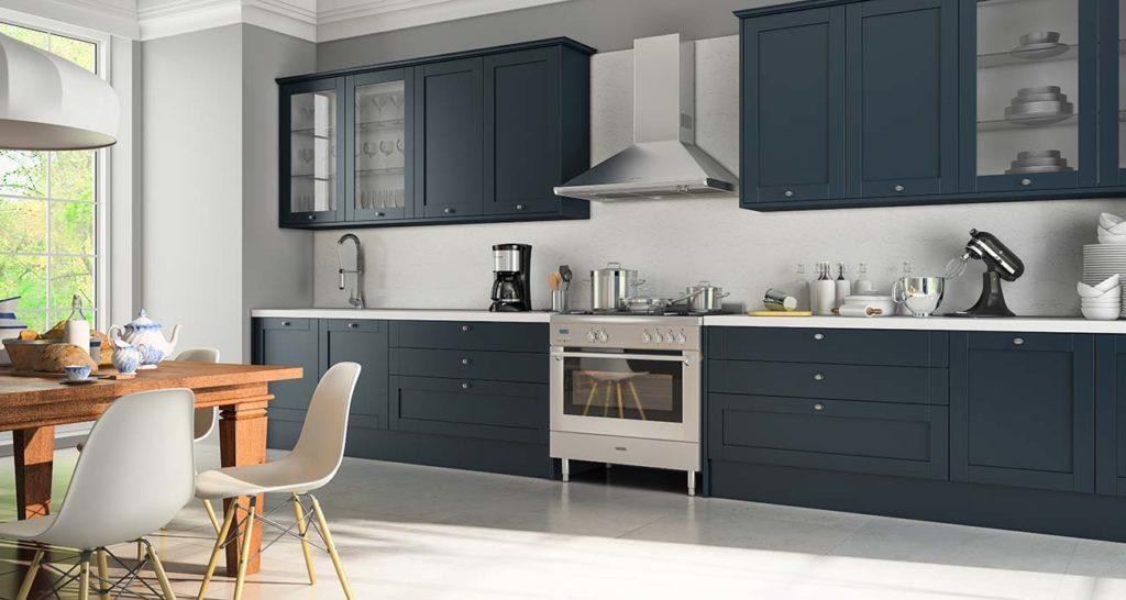 Cozinha Azul  Veja Mais de 70 Modelos Para Renovar Sua