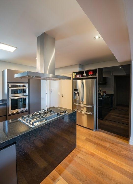 Cozinha Planejada Pequena Cinza Simple Imagem U Para