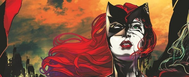 Batwoman cover by Trevor McCarthy DC Comics New 52