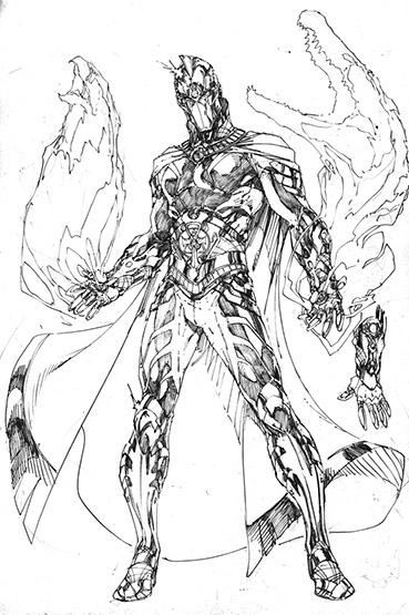 Line Wonder Woman Drawing