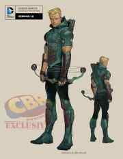 comics rebirth's green arrow