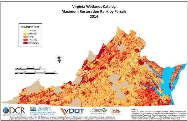 Virginia Wetlands Catalog