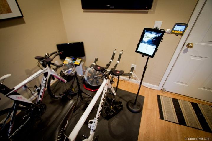 DIY How I made a trainer bike computeriPadphone stand