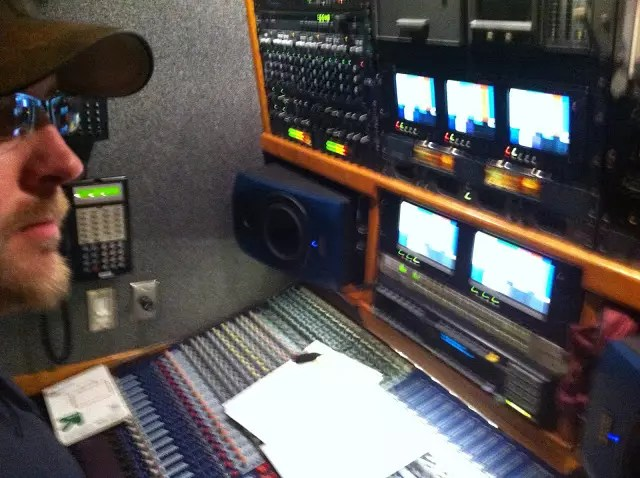 Audio Directing a Live TV Broadcast