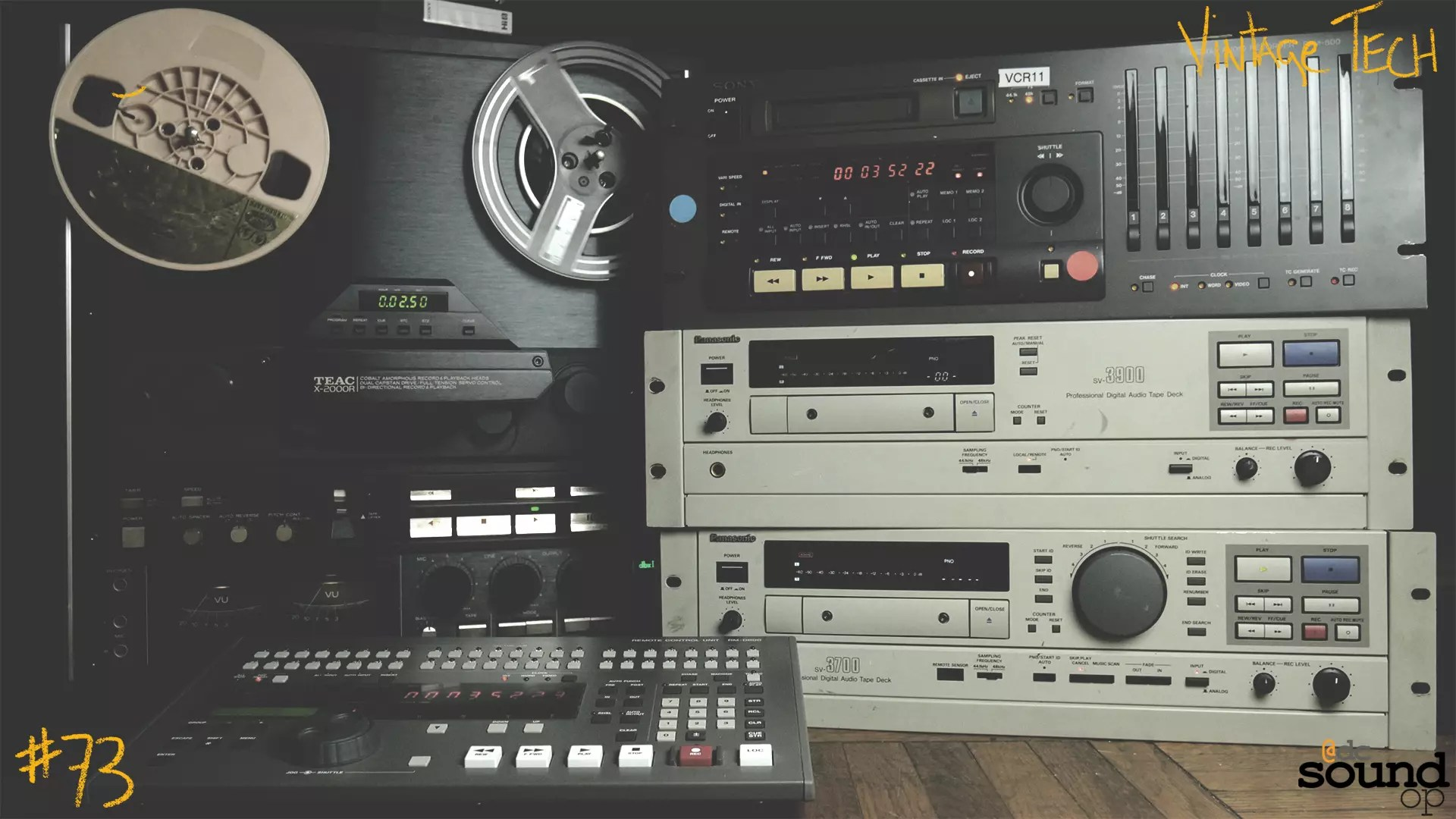 #73 – Vintage Tech: Tape Based Recording Sneak Preview
