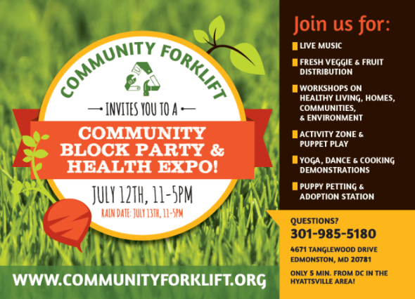 Community Forklift - Block Party and Health Expo