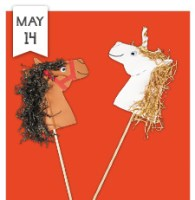 Lakeshore Learning store craft project - Giddy-Up Pony