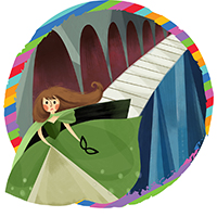 Ella Enchanted Adventure Theatre MTC - Logo