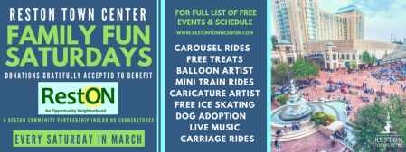 Reston Town Center - Family Fun Saturdays