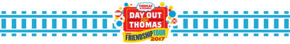 Day Out With Thomas - -DOWT Railroaad Banner