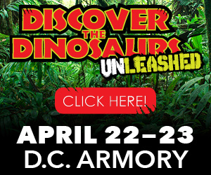Discover the Dinosaurs Unleashed -Ad