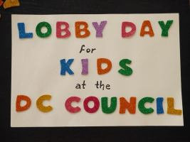 Lobby Day for Kids at the D.C. Council - April 19 2017