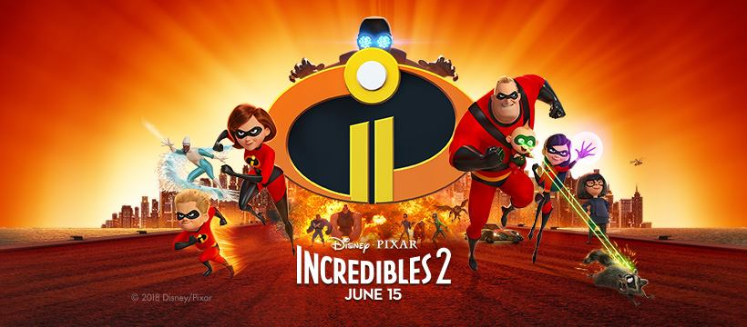 Incredibles 2 (2018) BDRip x264 [720p-480p] [Hindi+Tamil+Telugu+Eng] AAC Esubs