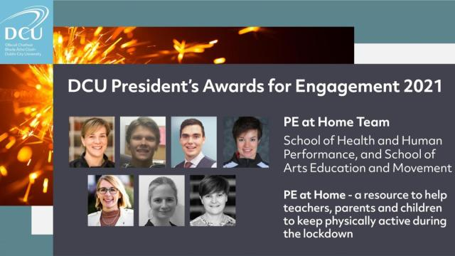 DCU President Awards Engagement - PE At Home