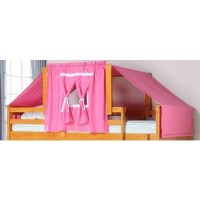 Bunk Bed Tent Kit - Pink