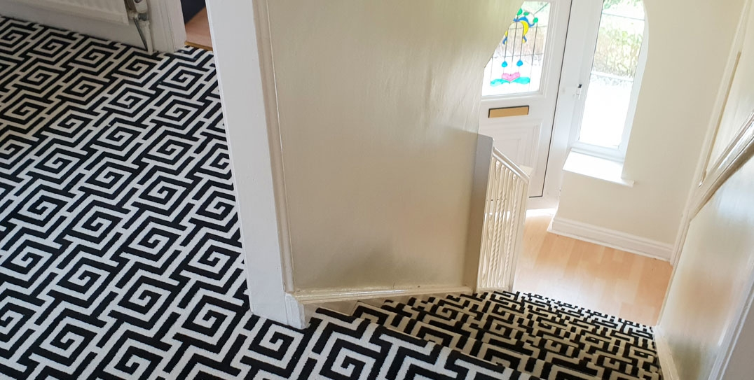 Measuring A Hall Stairs Landing Made Simple – Discount Carpet   Measuring Stairs For Carpet   Square Feet   Square Foot   Rug   Stair Runner   Flooring