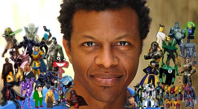 DC World Interview with Phil Lamarr at LFCC