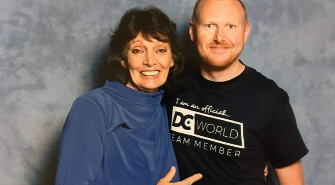 DC World Interview with Sarah Douglas at LFCC