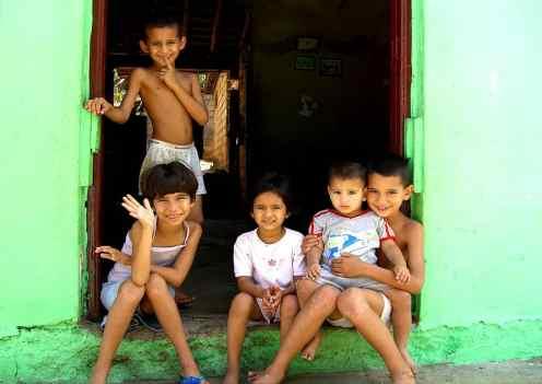 Fröhliche Kinder