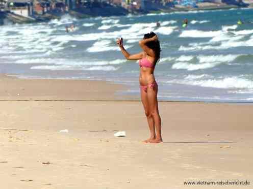 Vietnam Beach Girl