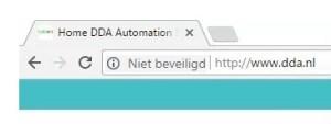 HTTP Niet Beveiligd