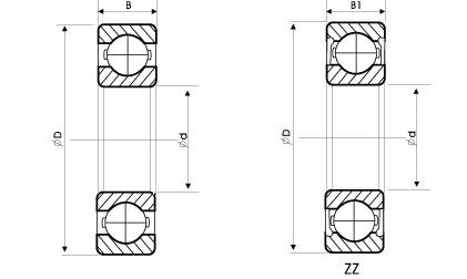 open deep groove ball bearing manufacturer, custom open