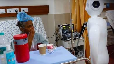 """Photo of مستشفى هندي يعين روبوت """"Mitra"""" لمساعدة المرضى على التواصل مع العائلة"""