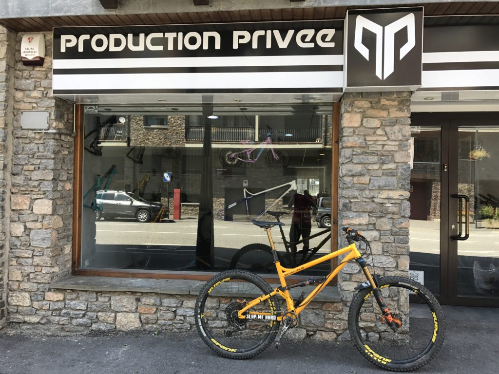 Production Privee Andorra; Production privee dealer; production privee uk; production privee shan n5; shan n5; shan no5; D&D Cycles; bike shop; cycle shop; D&D cycles production privee