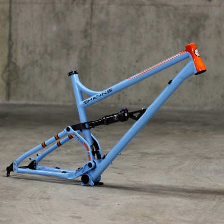 Production Privee Shan N5 Gulf 917 Steel full suspension frame 1