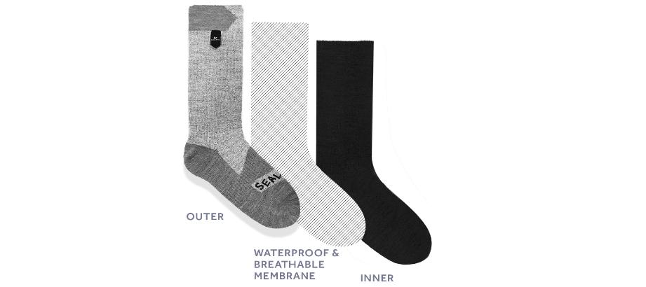 waterproof socks; sealskinz socks; sealskinz mtb socks; waterproof socks