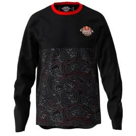 RED BULL RAMPAGE LONG SLEEVE TECH JERSEY; red bull clothing; red bull apparel; redbull merch
