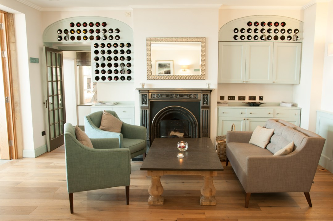 Holm House | Dining Room | Fireplace